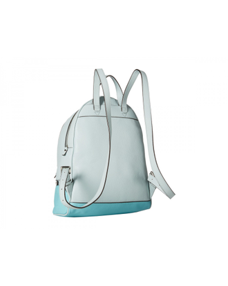 Рюкзак Michael Kors Rhea small leather backpack celand azure