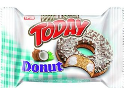 ПОНЧИК TODAY DONUT КОКОС 50Г