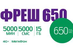 5000 минут за 650 рублей соннику
