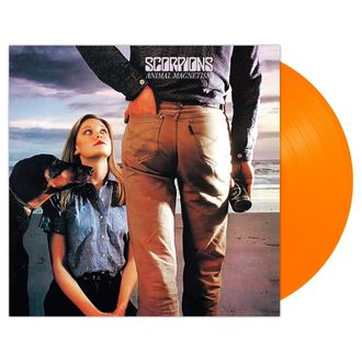 Scorpions - Animal Magnetism LP Neon Orange