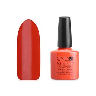 Гель-лак Shellac CND Electric Orange №90514