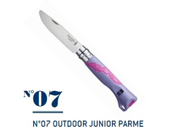 Нож Opinel №07 Outdoor Junior Purple