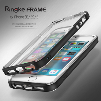 Чехол на Apple iPhone SE, 5S и 5, Ringke серия Frame, цвет мятный (Frost Mint)
