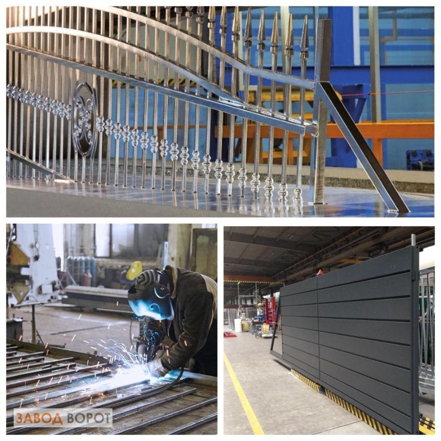 Изготовление ворот на заводе Wisniowski