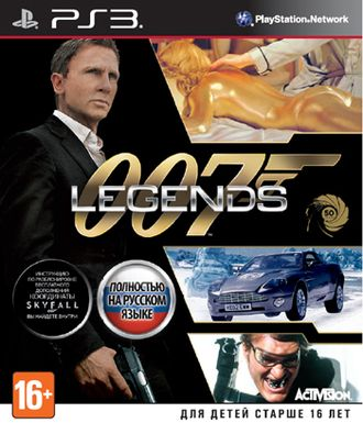 Купить PS3 007 Legends (б/у)