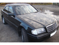 Mercedes Benz C-klasse sedan (W202) 1993-2000 дефлекторы окон