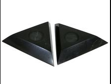 Подставка Шунгит треугольник, под шар или яйцо, в ассортименте, Карелия (70-75 мм, высота: 10 мм, 38-40 г) №22862