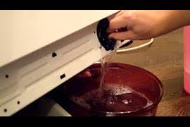 Чистка фильтра насоса и заливного клапана