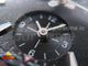 Polaris Geographic WT ST Black Textured Dial