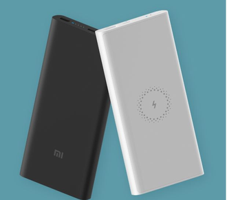 Аккумулятор Xiaomi Mi Wireless Power Bank 10000 mAh (WPB15ZM) черный