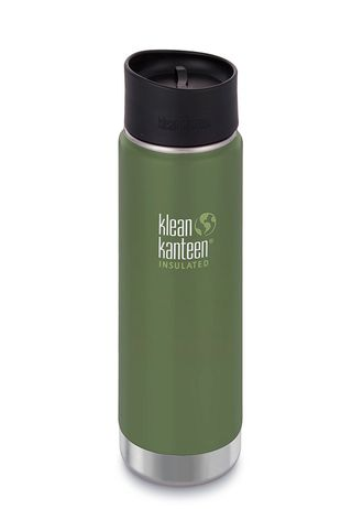 Термобутылка Klean Kanteen Insulated Wide 20oz (592 мл) Vineyard Green матовая