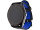 smart watch v9 quad band blue