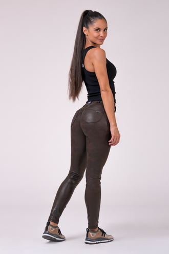 БРЮКИ NEBBIA BUBBLE BUTT PANTS 538