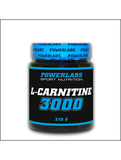 Карнитин POWERLABS L-carnitine 210g