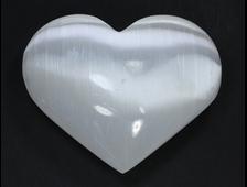Сердце Селенит, Канада (67*55*27 мм, 119 г) №21270