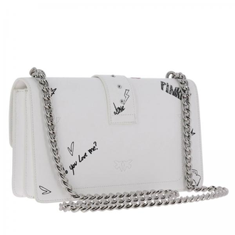 PINKO LOVE GRAFFITI WHITE