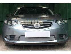 Защита радиатора Honda Accord IX 2013-2015 chrome