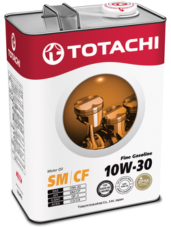 Totachi Fine Gasoline SM/CF 10W-30, 4л