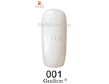 F.O.X gel-polish gold Gradient  001 (миндальный), 6 мл