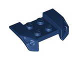 Vehicle, Mudguard 2 x 4 with Headlights Overhang, Dark Blue (44674 / 4529744 / 6097585 / 6289312)