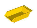 Vehicle, Tipper Bed 4 x 6, Solid Studs, Yellow (15455 / 6051026 / 6286533)