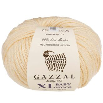 Gazzal Baby Wool XL 829 крем