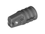 Hinge Cylinder 1 x 2 Locking with 1 Finger and Axle Hole on Ends with Slots, Dark Bluish Gray (30552 / 4210694)