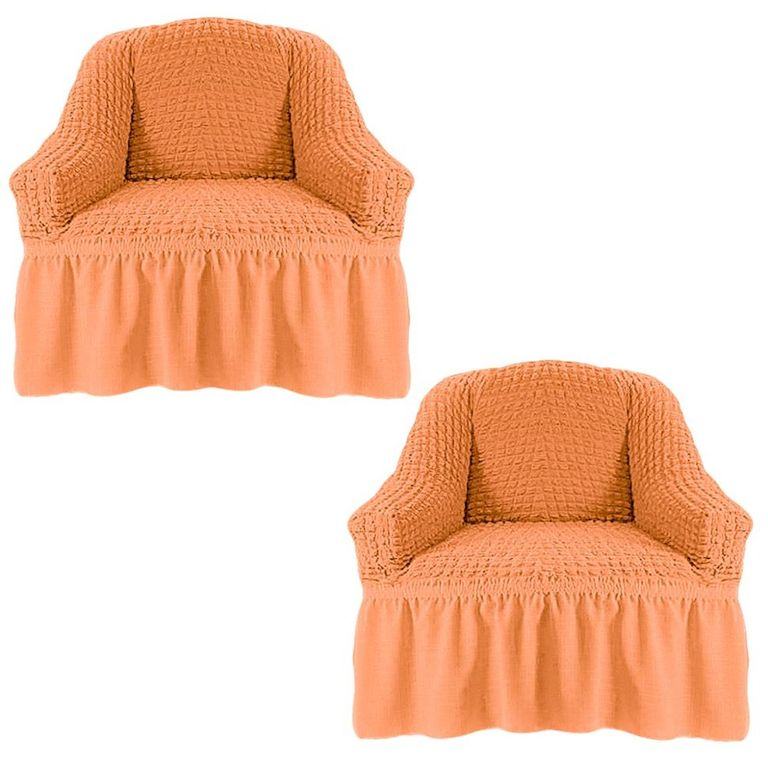 Чехлы на 2 кресла, Коралловый 227
