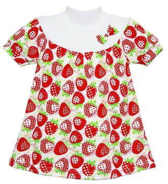 Платье для девочки (5107-073) цвет красный