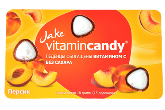 Jake Vitamin Candy Персик