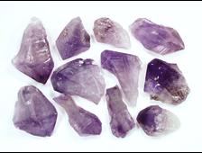 Аметист, кристаллы в ассортименте (35-45 мм, 15-20 г) №6834
