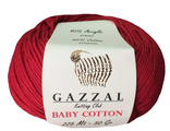 Gazzal baby cotton 3439 красный