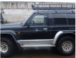 Ford Maverick 3-door 1988-1996/Nissan Patrol 3-door (Y60) 1988-1997 дефлекторы окон