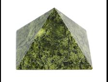 Пирамида Змеевик, Россия, Урал (46*46*31 мм, 59 г) №20673