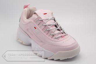 Купить кроссовки Fila Disruptor 2 женские светло-розовые арт.F05 42c7ef1b96900