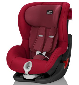 BRITAX ROEMER King II Black Series Flame Red