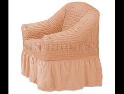 Чехол Стандарт на кресло, цвет Пудра