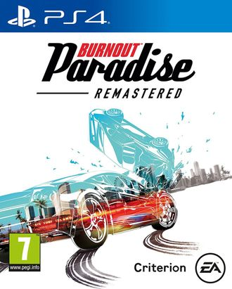 игра для PS4 Burnout Paradise Remastered