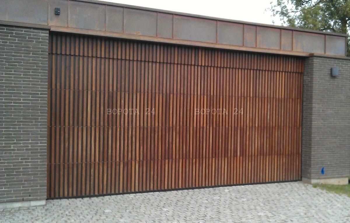 Ворота в стиле лофт - современные дизайнерские решения