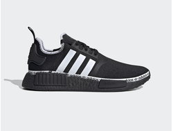 Adidas NMD R1 Black/White черно-белые