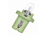 BAX 12V-2W (BAX8,5d/1,5) light-green 10 шт