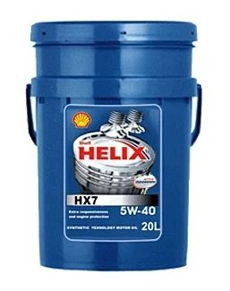 Масло моторное Shell HELIX HX7 5W-40 20л 550040318