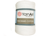 Macrame cotton 771 белый