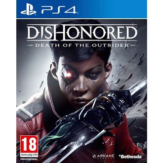 Купить PS4 Dishonored: Death of the Outsider (б/у)