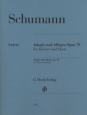 Schumann Adagio and Allegro op. 70 for Piano and Horn