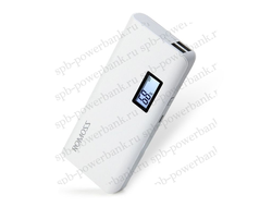 Купить Power Bank Romoss с дисплеем 10400 mAh белый в Санкт-Петербурге