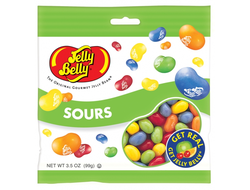 Jelly Belly Peg Bag Sours 99г