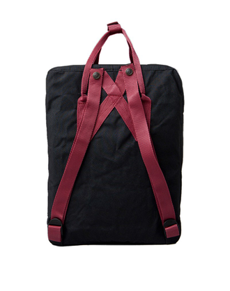 Fjallraven Kanken Black/Ox Red интернет магазин Bagcom СПб