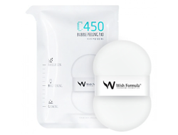 Wish Formula C450 Bubble Peeling Pad - Спонж-пилинг для тела с витамином С