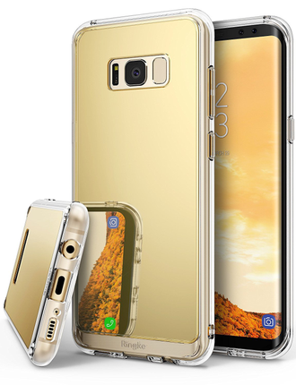 Чехол для Samsung Galaxy S8 Plus, Ringke серия Fusion Mirror цвет золотистый (Royal Gold)